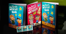 B4 School booklets, birthday cards and labels